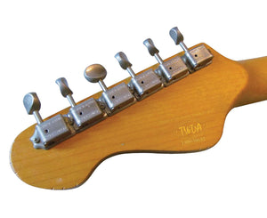 Vintage Reissue V62MR Distressed Ash Blonde Electric Guitar Electric Vintage Reissue