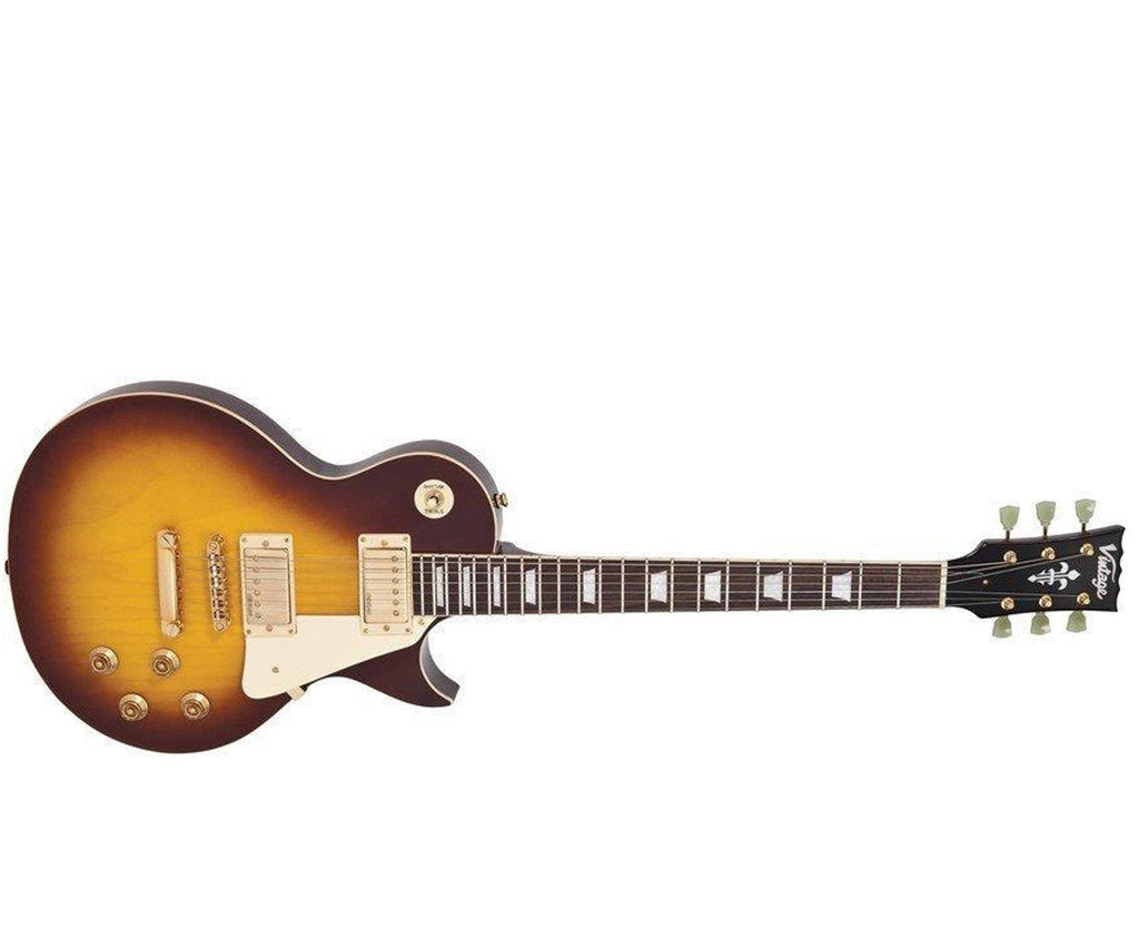 Vintage Reissue V100TSB Les Paul in Tobacco Sunburst