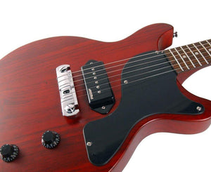 Vintage Reissue V130CRS LP Jr. Style Electric Guitar in Cherry Red Electrics Vintage Reissue