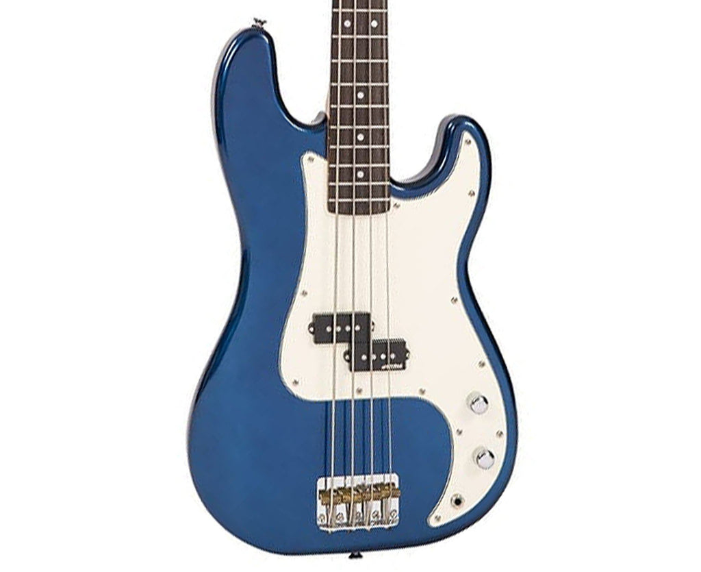 Vintage Reissue V4BBL P-Bass in Bayview Blue Bass Vintage Reissue