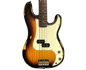 Vintage Reissue V4MRSSB P Bass in Sunburst
