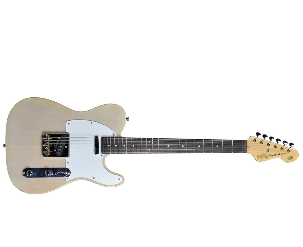 Vintage Reissue V62AB Telecaster Electric Guitar in Ash Blonde - Megatone Music