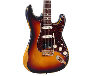 Vintage Reissue V6HMRSB Stratocaster Electric Guitar in Vintage Sunburst Electric Vintage Reissue