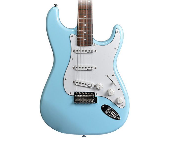 Vintage Reissue V6LB Stratocaster Electric Guitar in Laguna Blue