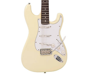 Vintage Reissue V6VW Stratocaster Electric Guitar in Vintage White Electric Vintage Reissue