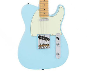 Vintage Reissued V75LB 75' Reissue Telecaster Electric Guitar in Laguna Blue Electric Vintage Reissue