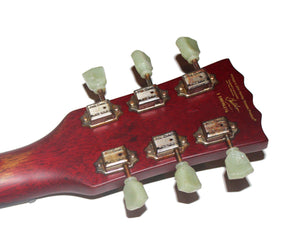 Vintage Reissue VS6MRCR SG Style Distressed Electric Guitar in Cherry Red Electric Vintage Reissue