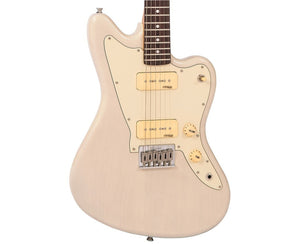 Vintage Reissued Series V65HBLD Offset Electric Guitar in Blonde - Megatone Music