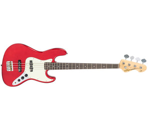 Vintage Reissue VJ74CAR J-Bass in Candy Apple Red Bass Vintage Reissue