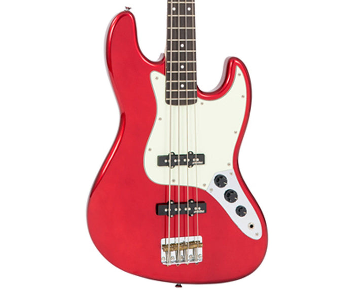 Vintage Reissue VJ74CAR J-Bass in Candy Apple Red