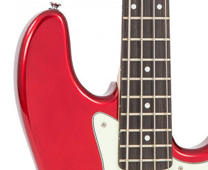 Vintage Reissue VJ74CAR J-Bass in Candy Apple Red - Megatone Music