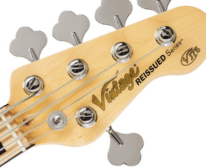 Vintage Reissue VJ75NAT Deluxe 5-String J-Bass in Natural Bass Vintage Reissue