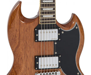 Vintage Reissue VS6M SG Style Electric Guitar in Mahogany - Megatone Music