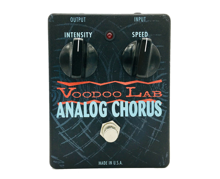 Voodoo Lab Analog Chorus Effects Pedal