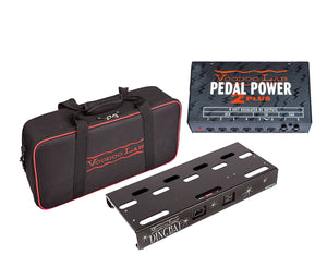 Voodoo Lab Dingbat Pedalboard Power Package - Small With Pedal Power 2 Plus