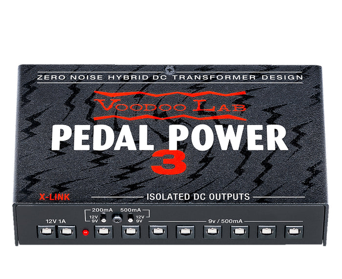 Voodoo Lab Pedal Power 3 High Current 8-Output Isolated Power Supply PP3