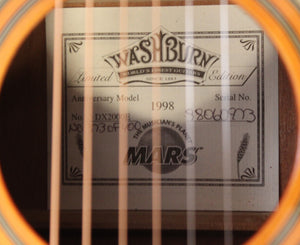 Washburn DX2000E Mars Music Limited Edition  # 373 of 400 Anniversary Model