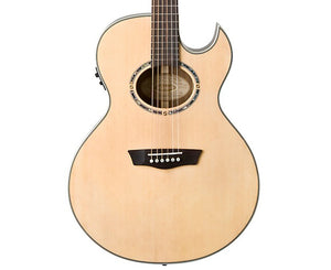 Washburn EA20SNB Festival Series Florentine Nuno Bettencourt 6-String Acoustic-Electric Guitar - Megatone Music