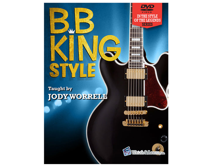 Watch and Learn B.B. King Style Solos Package - Book and 2 DVD Set