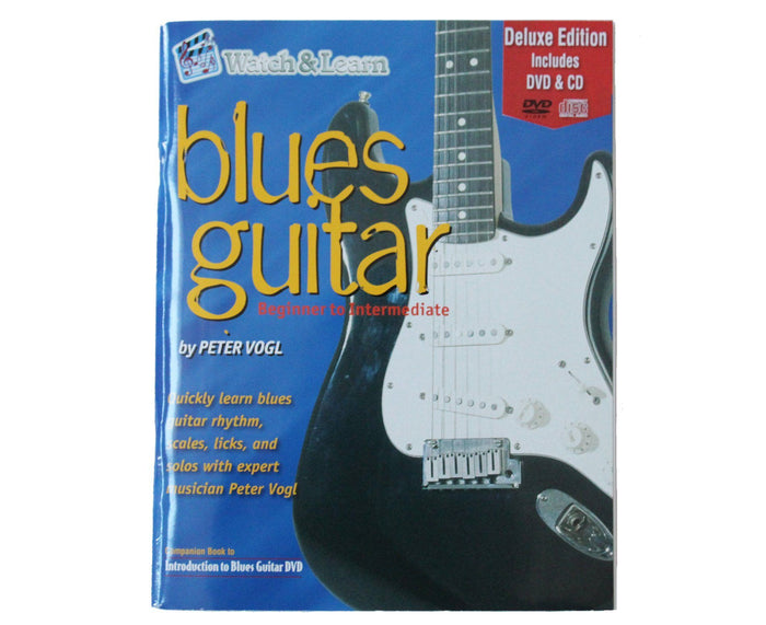 Watch and Learn Blue Guitar Deluxe Edition Book and DVD