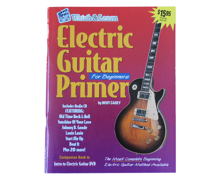 Watch and Learn Electric Guitar Primer for Beginners