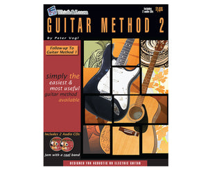 Watch and Learn Guitar Method 2 Book and Double CD - Megatone Music