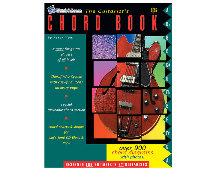 Watch and Learn Guitarist Chord Book