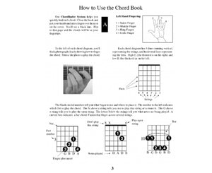 Watch and Learn Guitarist Chord Book - Megatone Music