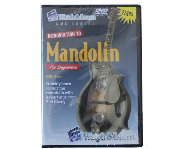 Watch and Learn Intro to Mandolin DVD