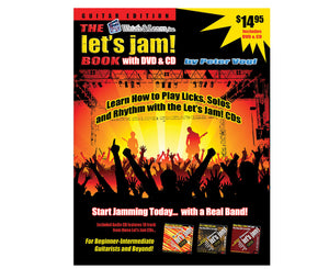Watch and Learn Let's Jam Book, CD and DVD - Megatone Music