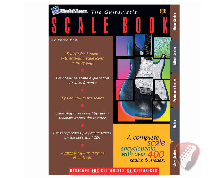 Watch and Learn The Guitarist's Scale Book