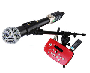 Xvive U3 Wireless Microphone System in Black