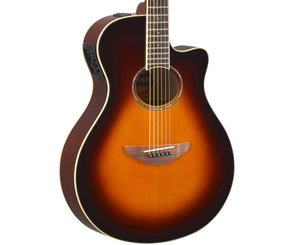 Yamaha APX600 OVB Thinline Cutaway Acoustic Guitar in Old Violin Burst - Megatone Music