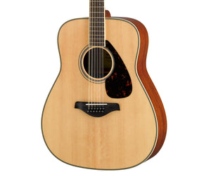Yamaha FG820-12 Acoustic 12-String Guitar in Natural - Megatone Music