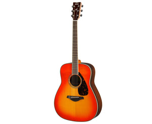 Yamaha FG830 AB Dreadnought Acoustic Guitar in Autumn Burst - Megatone Music
