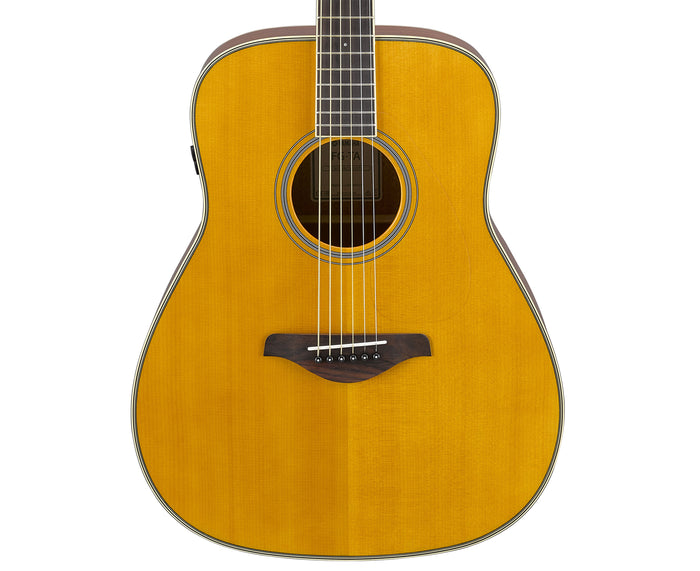 Yamaha FG-TA Transacoustic Acoustic-Electric Guitar in Sunburst