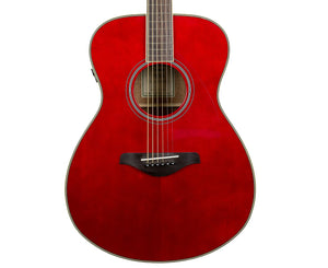 Yamaha FS-TA Transacoustic Acoustic-Electric Guitar in Ruby Red - B-Stock - Megatone Music