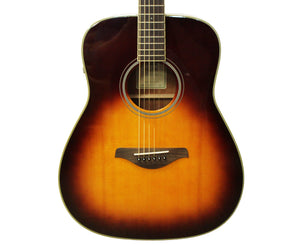 Yamaha FG-TA Transacoustic Acoustic-Electric Guitar in Brown Sunburst - Used - Megatone Music