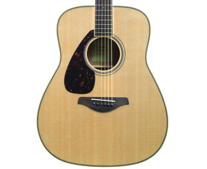 Yamaha FG820L Left-Handed Acoustic Guitar in Natural - Megatone Music