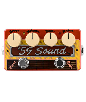 Zvex 59' Sound Hand-Painted Overdrive Pedal - Megatone Music