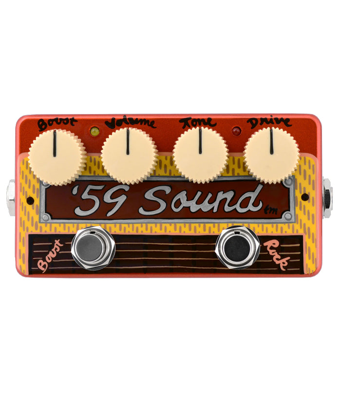 Zvex 59' Sound Hand-Painted Overdrive Pedal