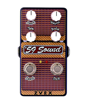 Zvex Vertical 59' Sound Overdrive Pedal - Megatone Music