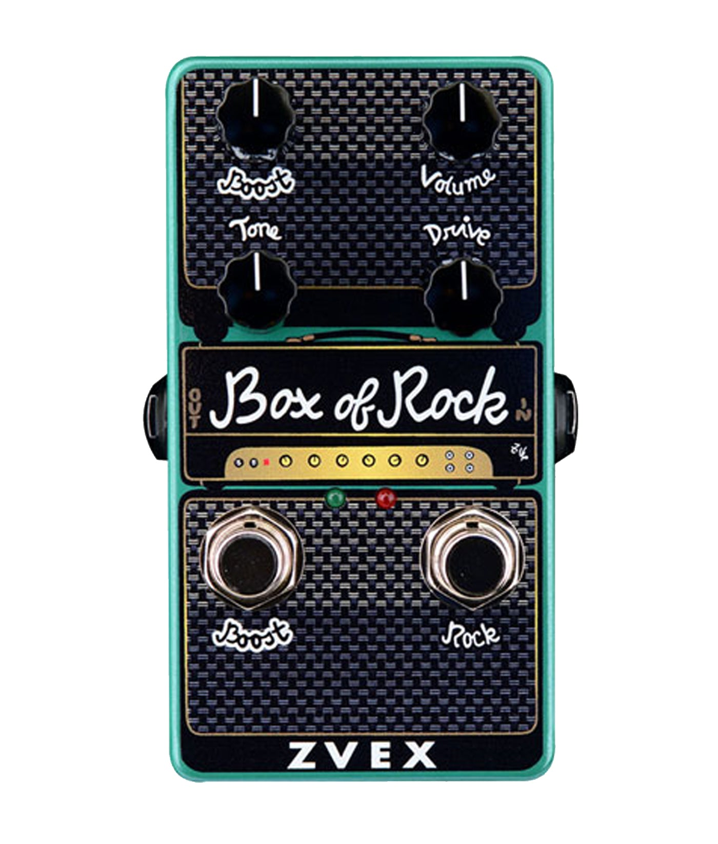 Vexter Series Clean Boost /& Distortion Pedal! ZVEX BOX OF ROCK NEW