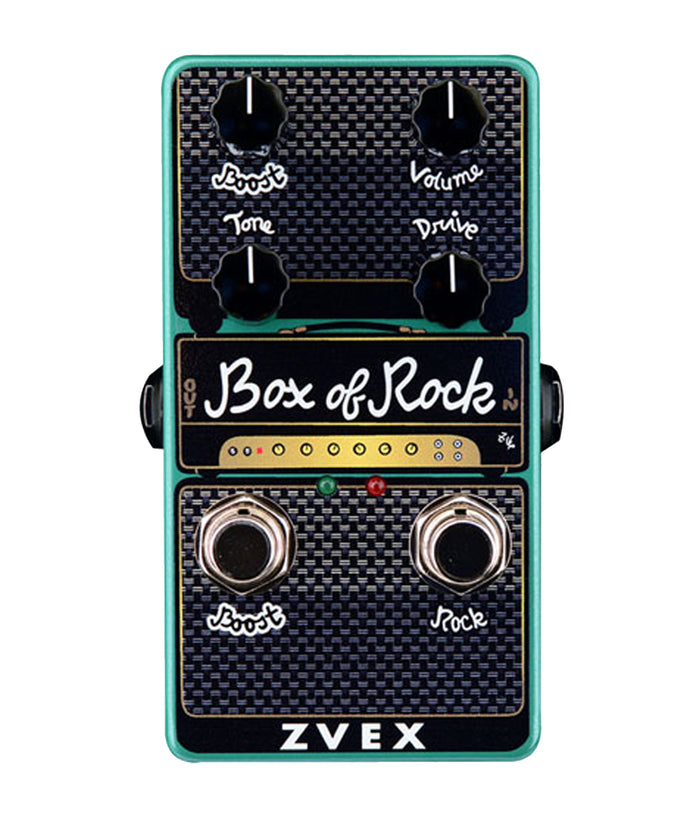 Zvex Vertical Box of Rock Distortion/Boost Pedal