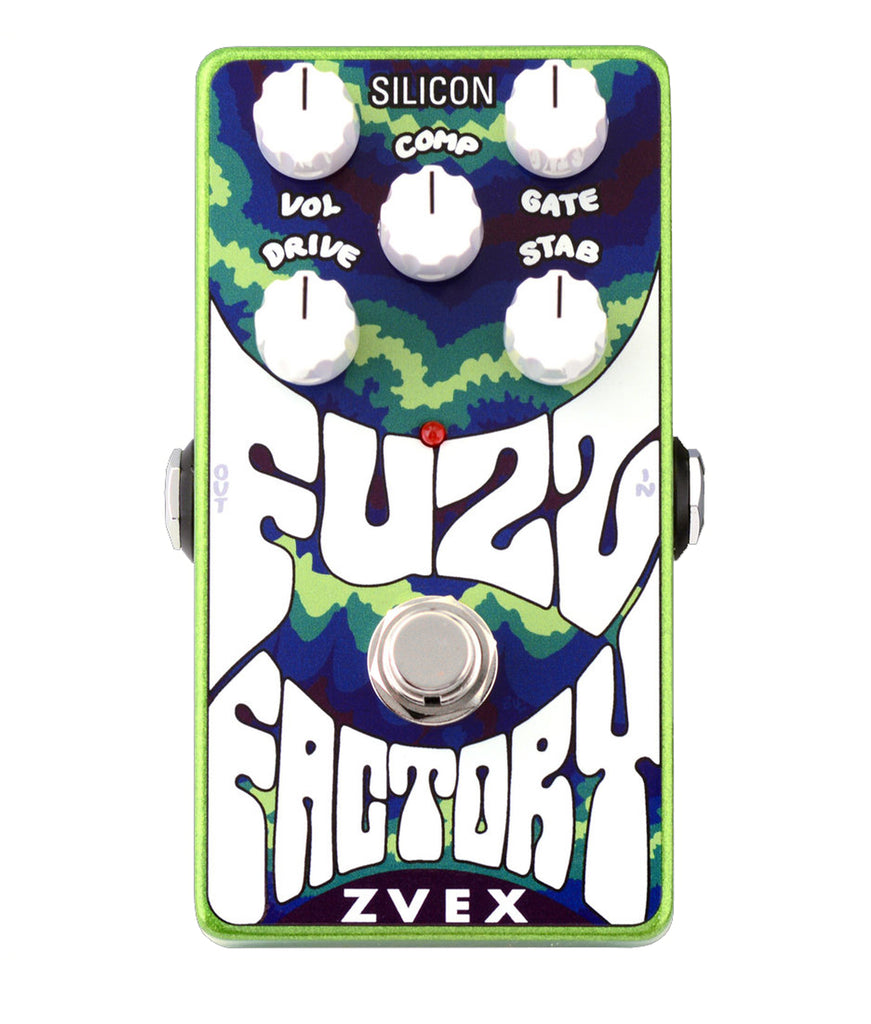 Zvex Silicon Fuzz Factory Bass or Guitar Fuzz Pedal - Megatone Music