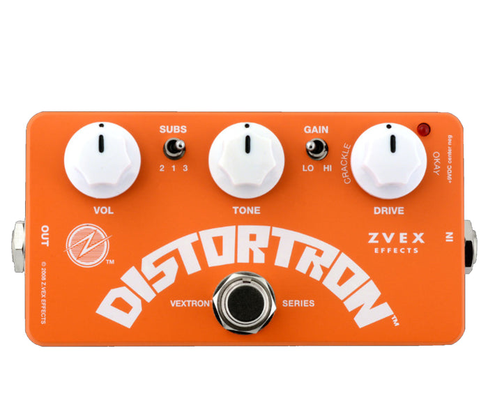 Zvex Orangesicle Distortron Effects Pedal - Limited Edition