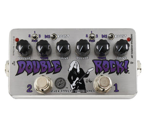 Zvex Vexter Double Rock Distortion Pedal | J. Mascis Dinosaur Jr. - Megatone Music