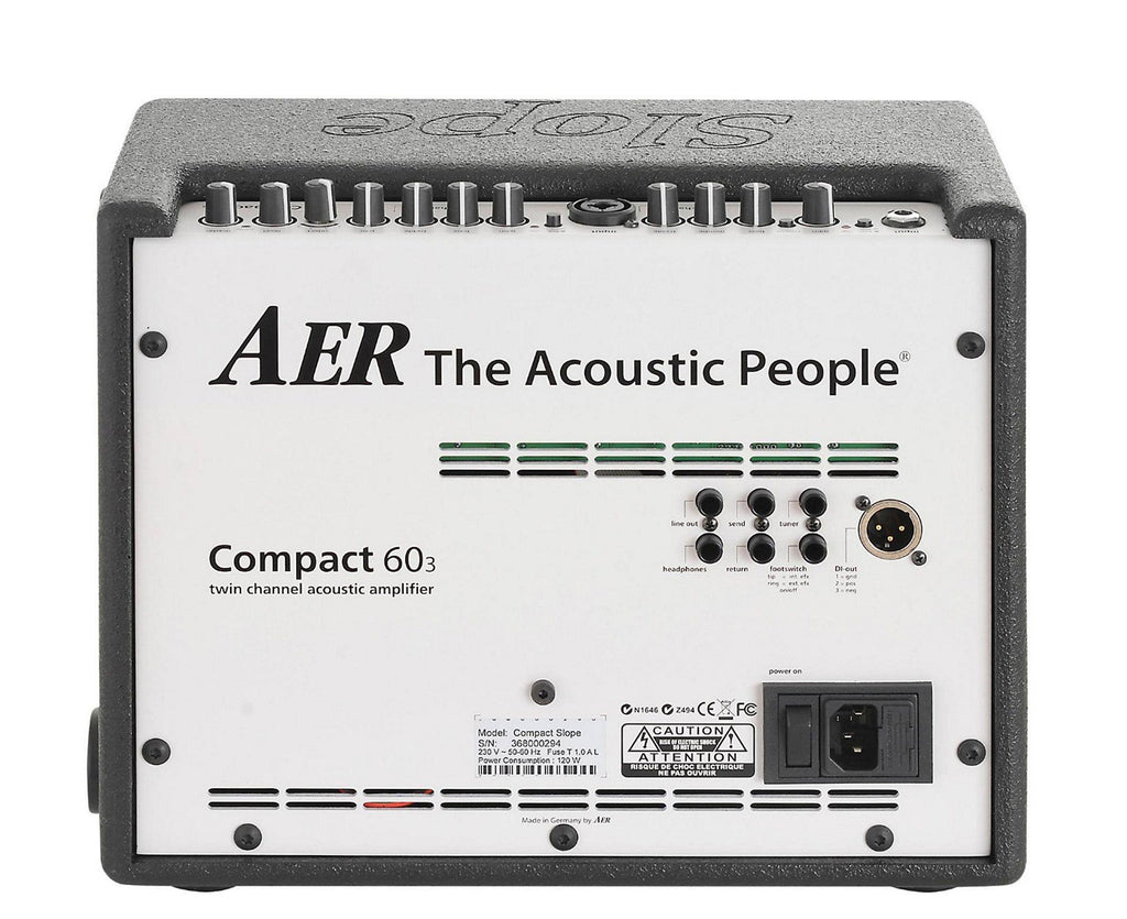 AER Slope 60 Acoustic Guitar Amplifier - Megatone Music