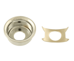Allparts Chrome Input Cup Jackplate for Telecaster Jackplate Allparts