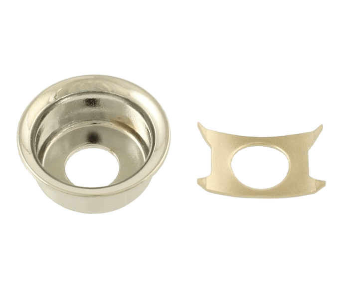 Allparts Chrome Input Cup Jackplate for Telecaster